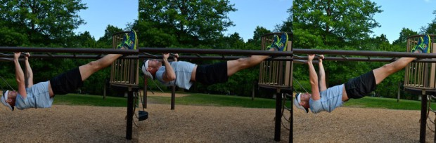 Hard Core Playground Workout