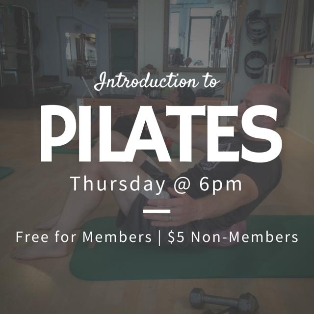 Pilates Mat Class Columbia SC