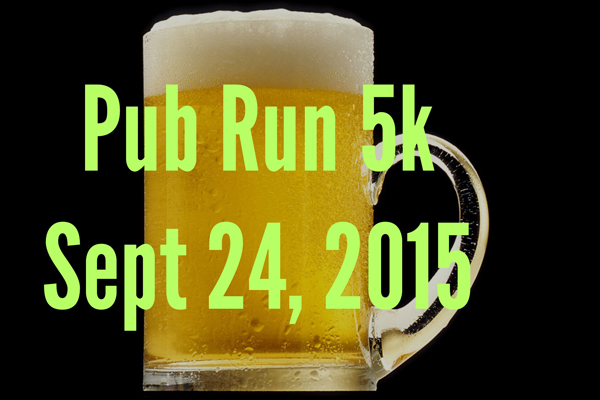 Pub Run 5k - Sept 24 2015