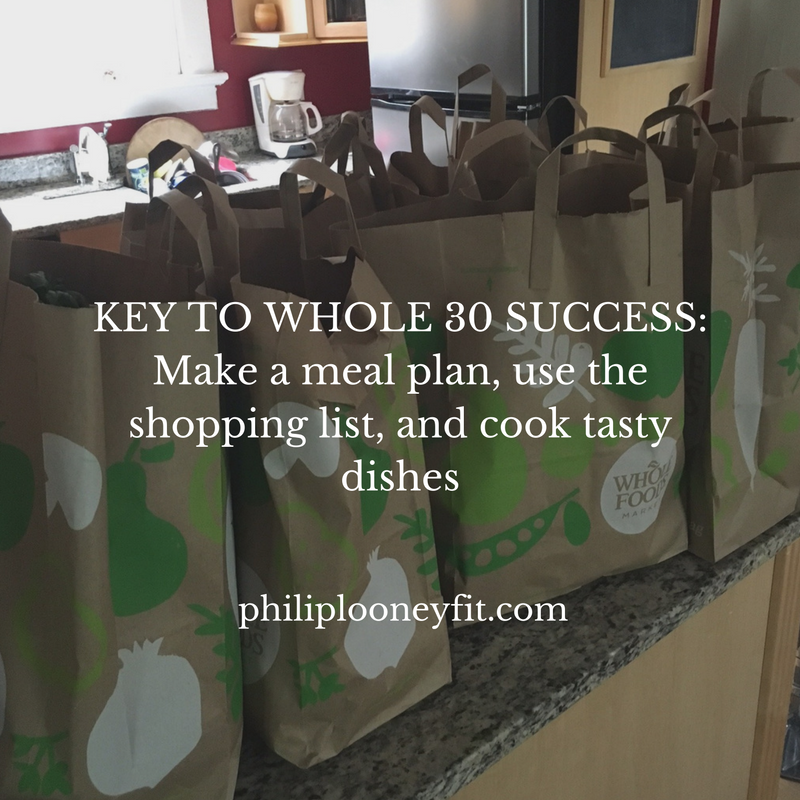 Key to Whole 30 Success