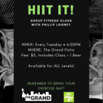 HIIT Class Every Tuesday!