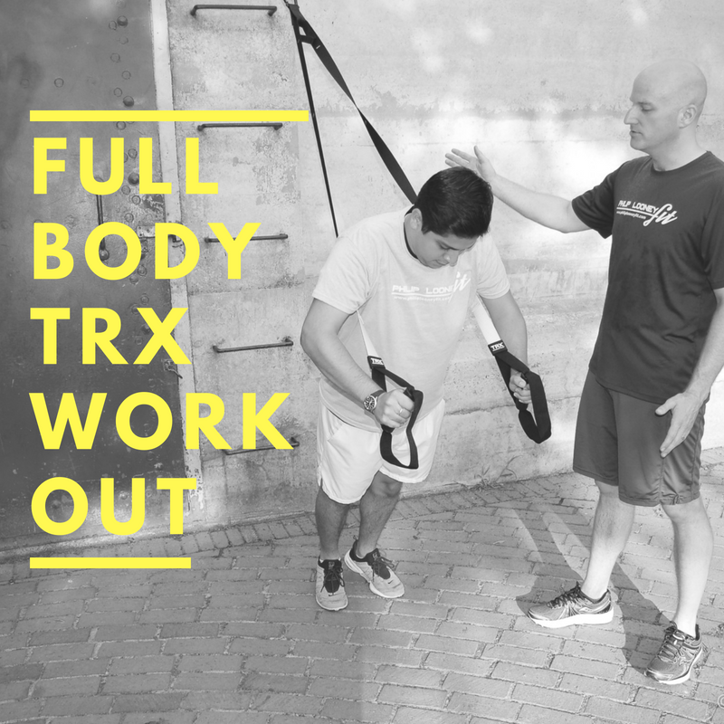 Get a full body workout with my 7 favorite TRX moves