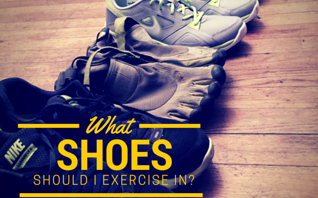 What Type of Shoes should I Exercise In?