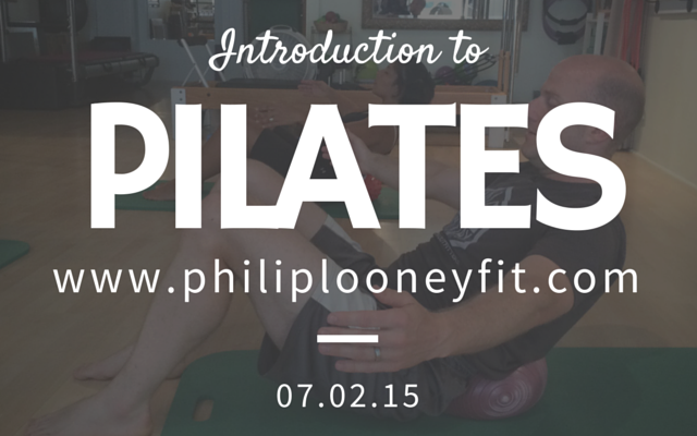 Intro to Pilates Class - July 2, 2015