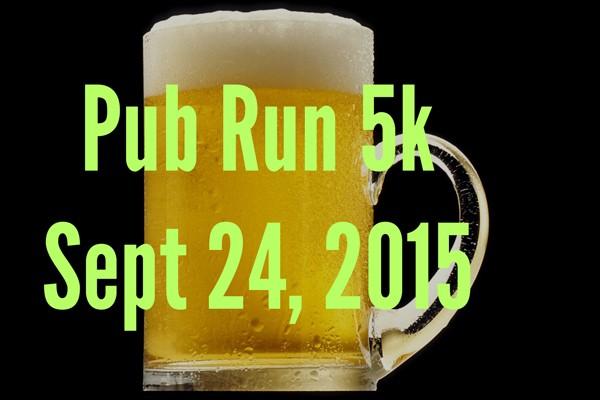 Pub Run 5k - Sept 24 2015